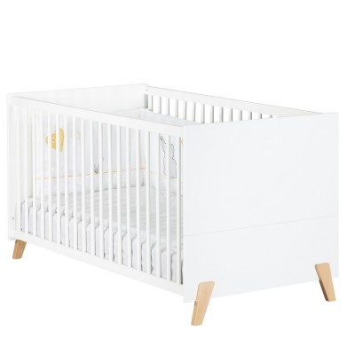 Lit bébé évolutif (140 x 70 cm) Little Big Bed Baby Price Joy coloris Naturel